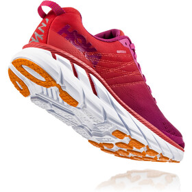 Hoka One One Clifton 6 Buty do biegania Kobiety, poppy red/cactus flower